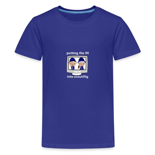 light 2020 in into scouting - Kids' Premium T-Shirt