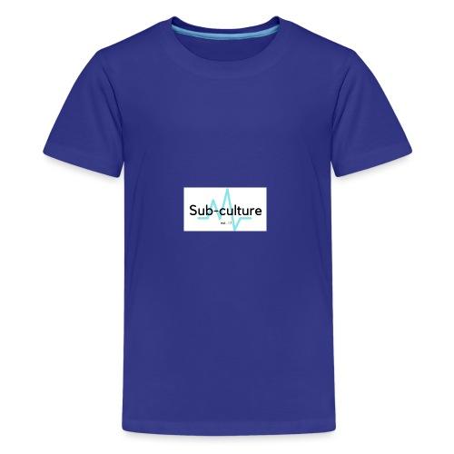 Sub-culture logo 2.0 - Kids' Premium T-Shirt