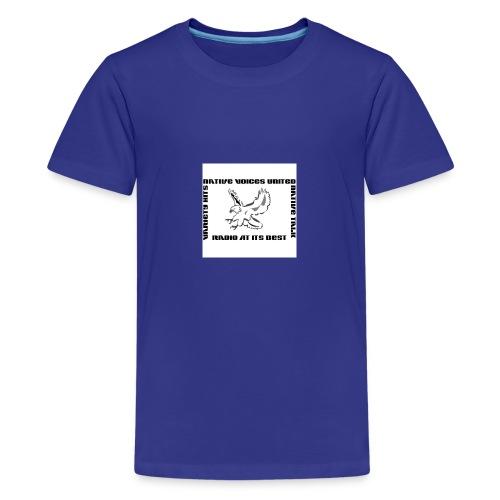 NVU RADIO - Kids' Premium T-Shirt