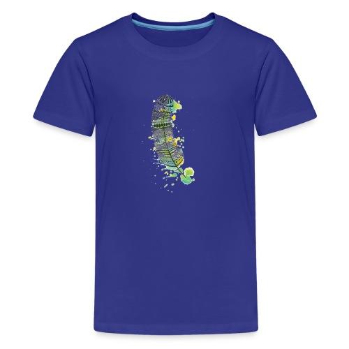 Geometric Feather - Kids' Premium T-Shirt