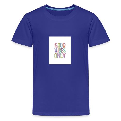 good vibes - Kids' Premium T-Shirt