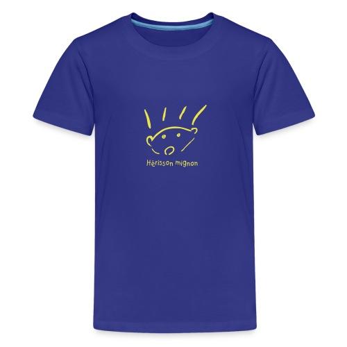herisson mignon med - Kids' Premium T-Shirt