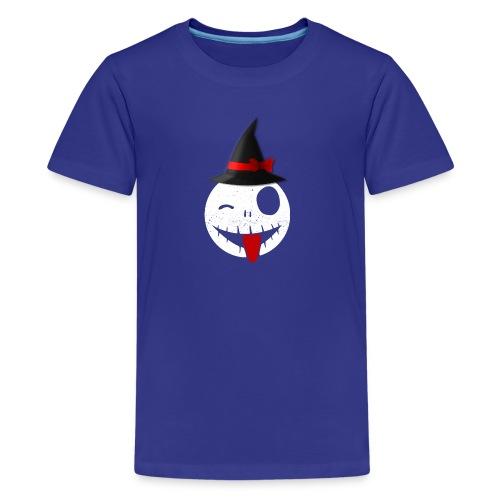 Halloween Emoticon - Kids' Premium T-Shirt