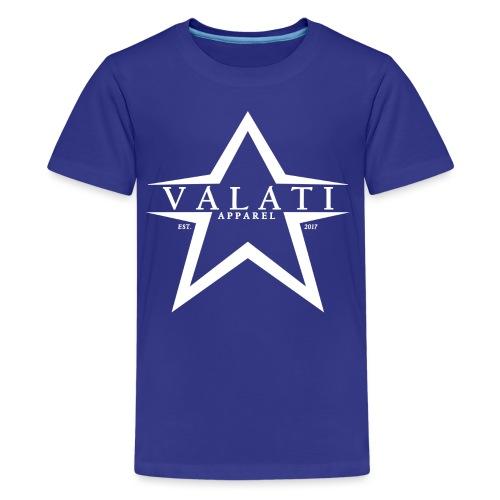 V-Star White - Kids' Premium T-Shirt