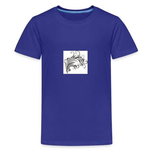 Floral Design 4 - Kids' Premium T-Shirt