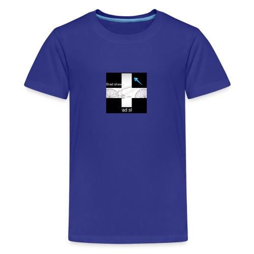 logo for vlogs - Kids' Premium T-Shirt