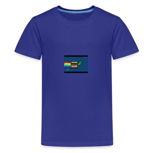 nyan turtles - Kids' Premium T-Shirt
