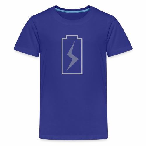 battery charging - Kids' Premium T-Shirt