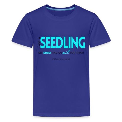 Seedling shirt black ang blue png - Kids' Premium T-Shirt