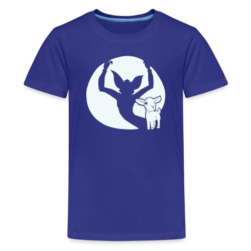 evil goat - Kids' Premium T-Shirt