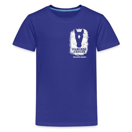ditrlogosolid reverse - Kids' Premium T-Shirt
