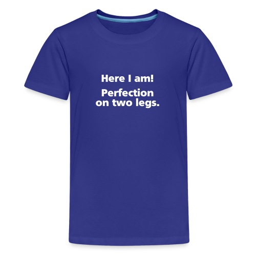 perfection simple - Kids' Premium T-Shirt