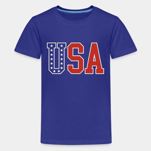 usa united states america - Kids' Premium T-Shirt