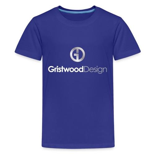 Gristwood Design Logo For Dark Fabric - Kids' Premium T-Shirt