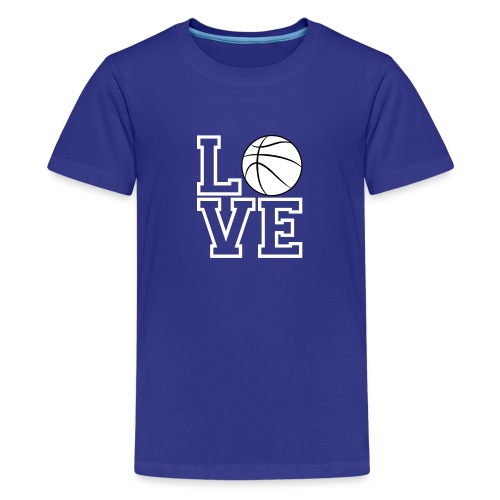 Love & Basketball - Kids' Premium T-Shirt