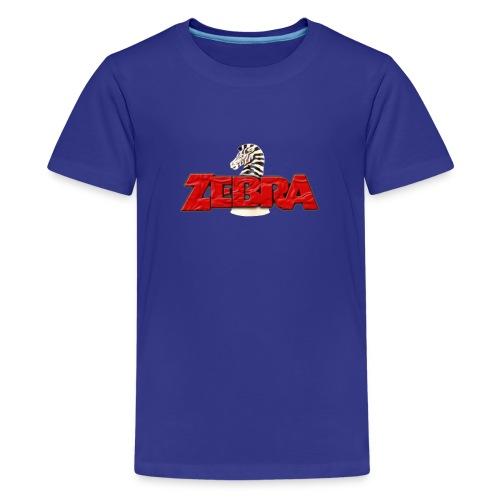 Zebra No Tellin Lies band - Kids' Premium T-Shirt