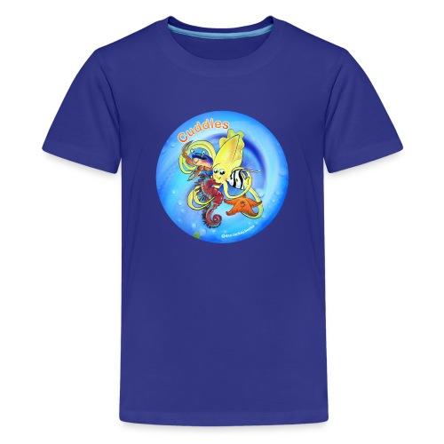 Cuddles clothes print. - Kids' Premium T-Shirt