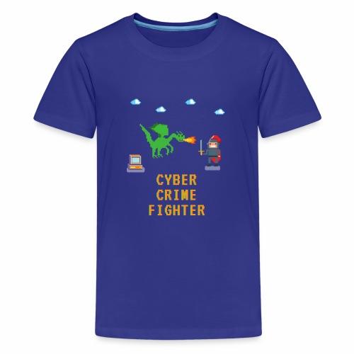 Cyber Crime fighter - Kids' Premium T-Shirt