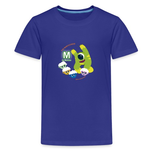 The Babyccinos M for Monster - Kids' Premium T-Shirt