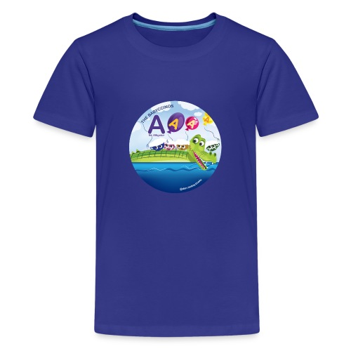 The Babyccinos The Letter A - Kids' Premium T-Shirt