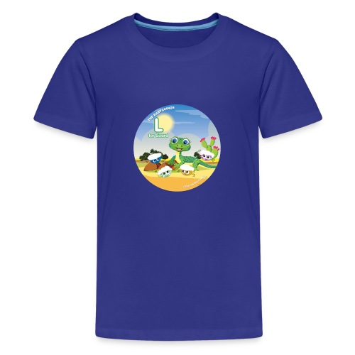 Babyccinos Alphabet Letter L - Kids' Premium T-Shirt