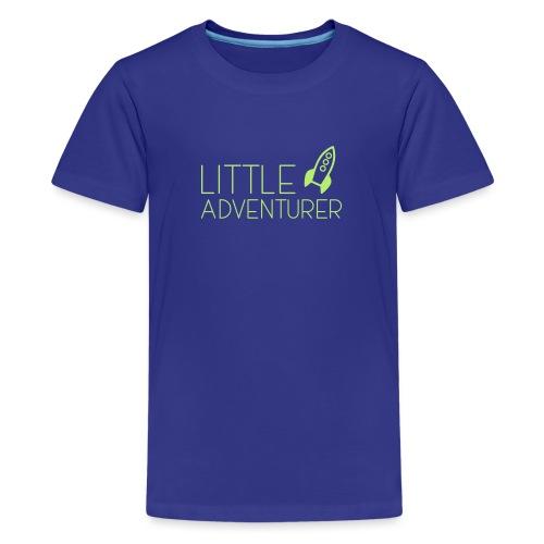 Little Adventurer Rocket t-shirt - Kids' Premium T-Shirt