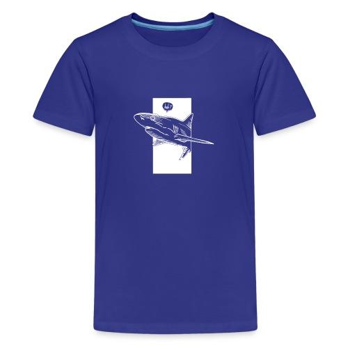 Huh Shark Predator - Kids' Premium T-Shirt