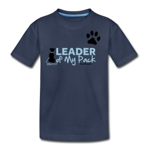 RescueDogs101 Leader of My Pack - Kids' Premium T-Shirt