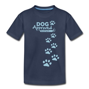 RescueDogs101 Dog Approved - Kids' Premium T-Shirt