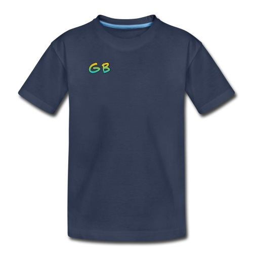 Gunsibgamer-gren and yellow logo - Kids' Premium T-Shirt