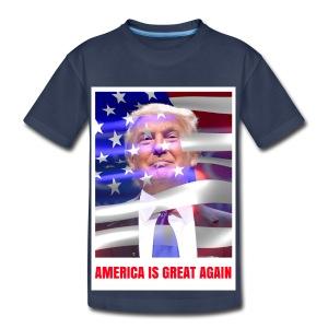 AMERICA IS GREAT AGAIN - Kids' Premium T-Shirt