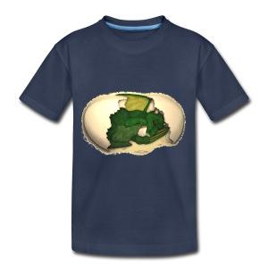 The Emerald Dragon of Nital - Kids' Premium T-Shirt