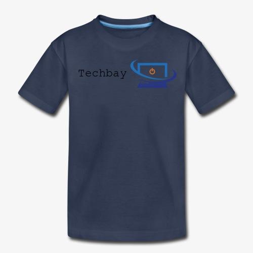 Techbay full logo - Kids' Premium T-Shirt