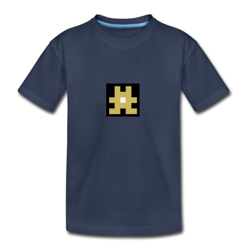 YELLOW hashtag - Kids' Premium T-Shirt