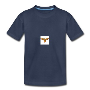 p4979 flaming eagle lg 1 - Kids' Premium T-Shirt