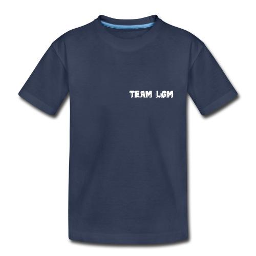 TEAM LGM white - Kids' Premium T-Shirt
