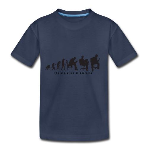 Learning_Evolution - Kids' Premium T-Shirt