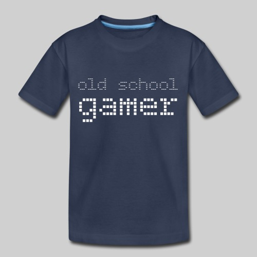 Old School Gamer - Kids' Premium T-Shirt