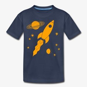 rocket orange - Kids' Premium T-Shirt