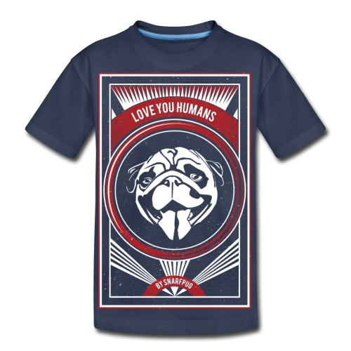 Cool Pug - Kids' Premium T-Shirt
