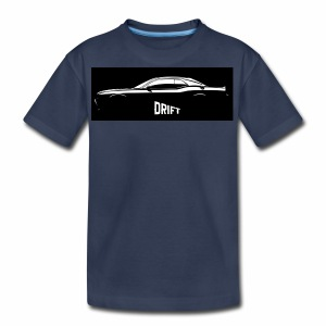 dodge demon challenger design - Kids' Premium T-Shirt