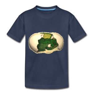 The Emerald Dragon of Nital - Kids' Premium T-Shirt