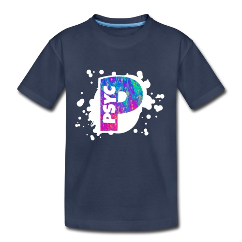 PSYC Channel Art Design - Kids' Premium T-Shirt