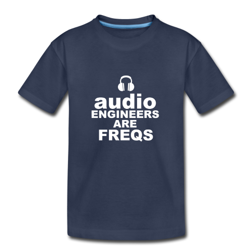 Audio Freqs - Kids' Premium T-Shirt