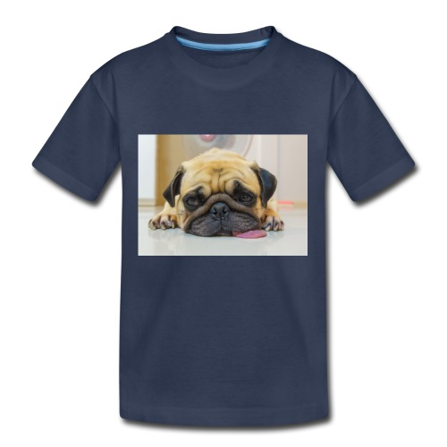 sick dog - Kids' Premium T-Shirt