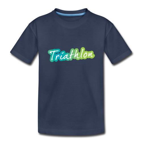 A great Triathlon gift for your friend or family - Kids' Premium T-Shirt