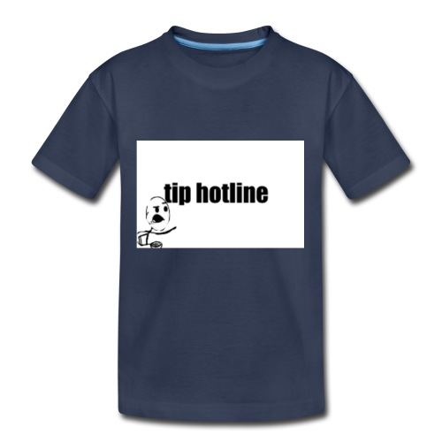 Tip hotline Phone Case - Kids' Premium T-Shirt