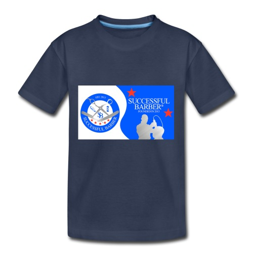 Official Successful Barber - Kids' Premium T-Shirt