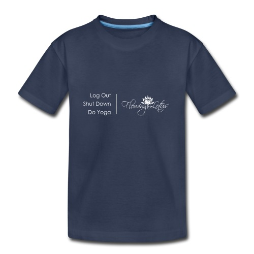 Yoga as a Priority - Kids' Premium T-Shirt