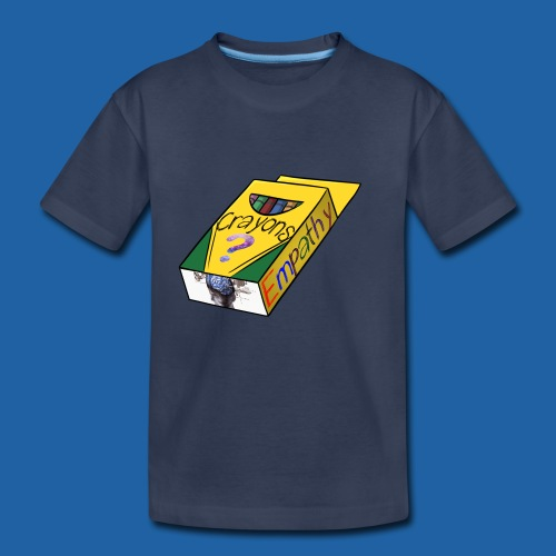 Colors of Empathy - Kids' Premium T-Shirt